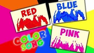 cores canção para crianças | canções para crianças | Aprender cores | Preschool Song | Colors Song