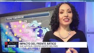 Impacto del frente Ártico al país. Hablamos con la meteoróloga Susie Martin
