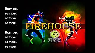FIREHOUSE -DADDY YANKEE FT PLAY N SKILLZ (LYRICS VIDEO)