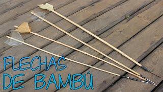 Como Fazer Flechas de Bambú