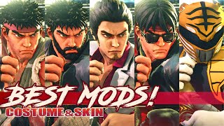 "TOP 5 ""RYU MODS"" in Street FighteR V:AE!"