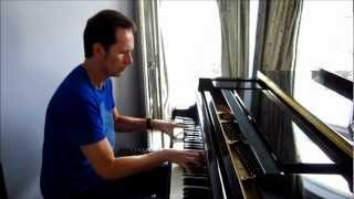 Live and let die on piano