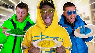 SIDEMEN EATING ONE COLOUR FOOD FOR 24 HOURS CHALLENGE