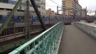 Keikyu Line,Between Shinagawa Station and Kitashinagawa Station