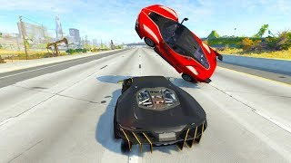 High Speed Jumps/Crashes BeamNG Drive Compilation #9 (Beamng Drive Crashes)