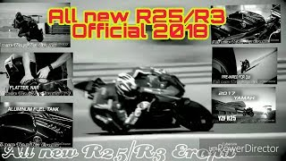 All new R25/R3 Eropa Official 2018
