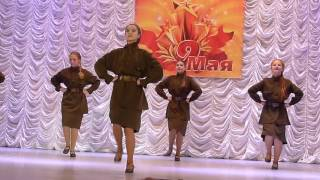 Russian girls — Katyusha dance — Девочки танцуют Катюшу