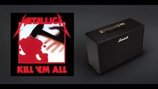 "Marshall CODE Metallica ""Kill 'em All"" album preset"