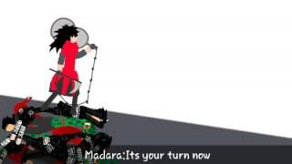 Stickman anime part 3(naruto and sasuke vs madara)