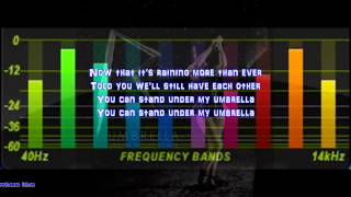 Umbrella Rihanna Rock Version With Lyrics
