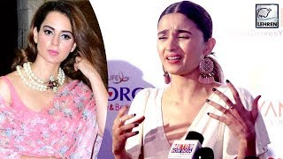 Alia Bhatt Gives A Fitting Reply After Getting INSULTED By Kangana Ranaut | LehrenTV