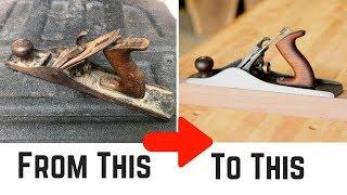 Hand Plane Restoration // How To