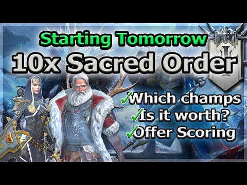 RAID Shadow Legends | 10x SACRED ORDER TOMORROW | FULL DISCUSSION / GENERAL UPDATE