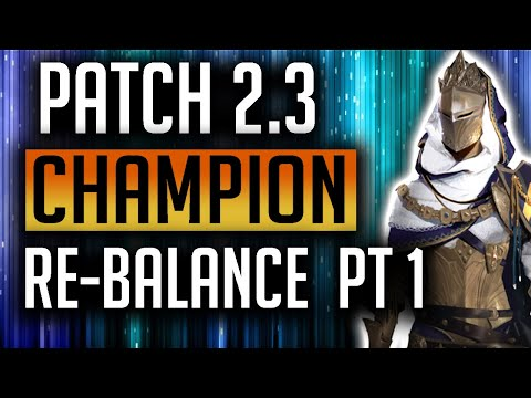 RAID: Shadow Legends | 2.3 September Champion Balance Suggestions Pt1