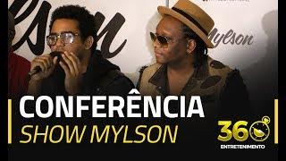 Conferência de Imprensa com Mylson e amigos, Show 08 de Julho Cine Atlântico