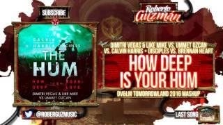 Dimitri Vegas & Like Mike vs. Ummet Ozcan vs. Calvin Harris - How Deep Is Ur Hum (DV&LM Mashup)