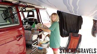 Warum wir draußen kochen   Küche   Leben im Bus