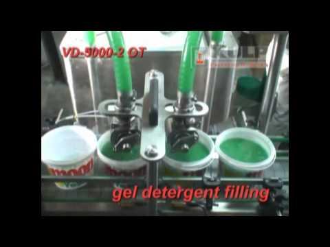 KULP Jel Bulaşık Deterjanı Dolum Makinesi