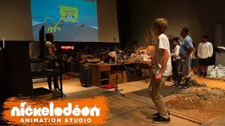 How SpongeBob Sound Effects Are Made | Inside Nick | Nickelodeon Animation