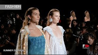 SUMMER DUCHESS - FLYING SOLO SS 2020 New York - Fashion Channel