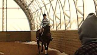 First time riding at my new barn