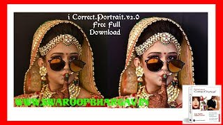 Perfect Color Correction Using I Correct.Portrait.v2.0 Free Download