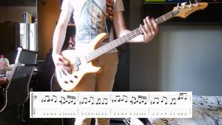 Royal Blood - Little Monster Bass cover with tabs