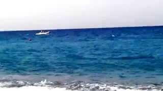 O som das ondas e do vento...