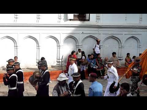 Festival Processions at Durbar Square, Kathmandu (Part 2)