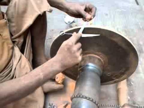 Knife/ Scissor sharpener – old professions, Kathmandu, Nepal