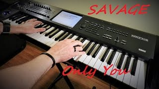 Savage - Only You - Live instrumental version - Korg Kronos - Piotr Zylbert (HD)