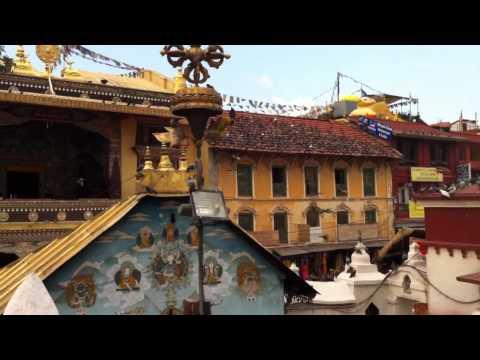 Stupa de Bodnath (Vallée de Kathmandu).