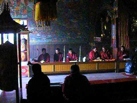 Buddhist Prayers  Bodnath monastry Kathmandu Nepal