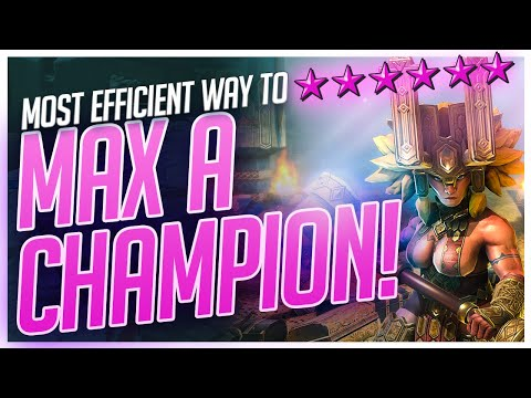 RAID | MOST EFFICIENT WAY TO MAX A CHAMP!!