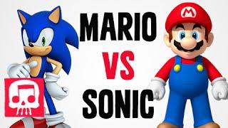 MARIO vs SONIC Rap Battle by JT Machinima and Brysi