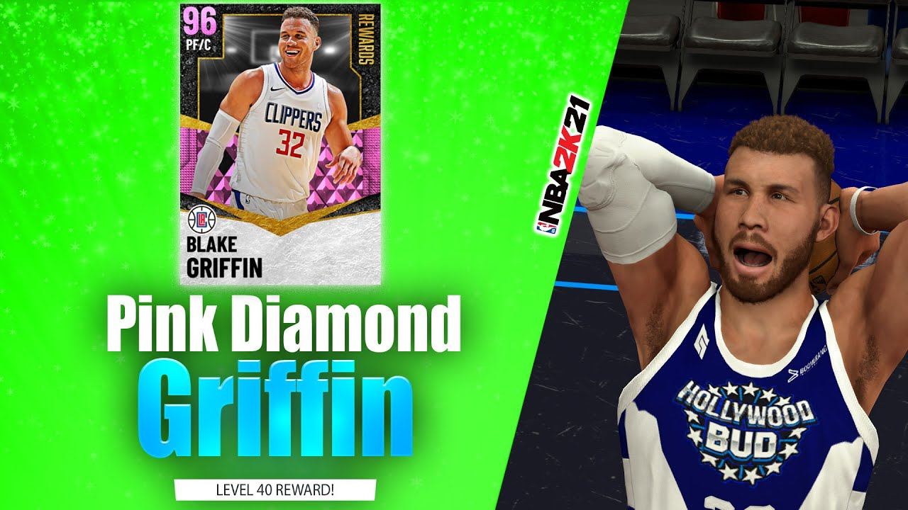 Bud22089 - Pink Diamond Blake Griffin Unlimited Debut! You'll Need Badges! NBA 2K21 MyTeam