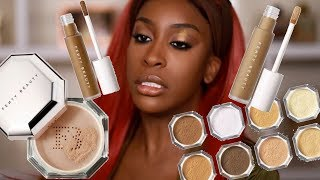 Has FENTY Done It Again?! Pro Filt'r Concealer & Setting Powder Review | Jackie Aina