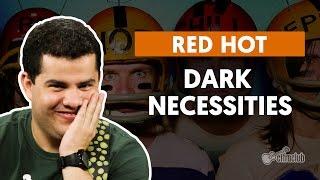 Videoaula Dark Necessities (aula de guitarra)