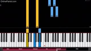 Salvador Sobral - Amar Pelos Dois - Easy Piano Tutorial - Eurovision Song Contest 2017