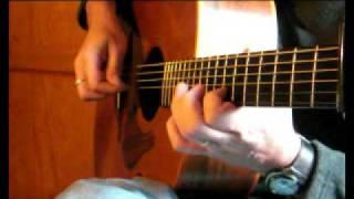 Bó Mhín Na Toitean  - Irish Guitar - DADGAD Fingerstyle Strathspey