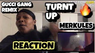Merkules - Gucci Gang Remix (Lil Pump) REACTION.CAM #merkules