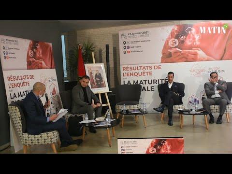 """Video : L'AUSIM dévoile les résultats de son enquête """"La Maturité Digitale au Maroc"""""""