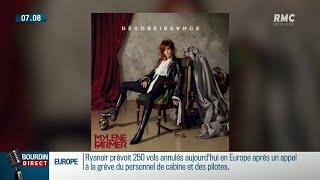 """""""Désobéissance"""", Mylène Farmer de retour avec son nouvel album"""