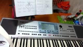 人生何处不相逢電子琴伴奏