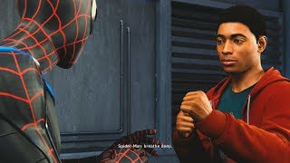 Spider-Man PS4 - Miles Morales Meets Spider-Man For The First Time