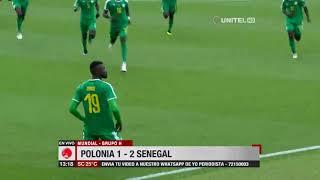 Mundial, Grupo H: Polonia 1– 2 Senegal