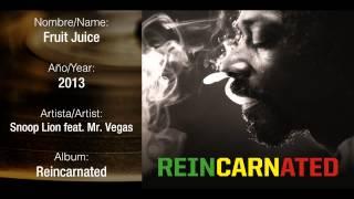 Snoop Lion feat. Mr Vegas - Fruit Juice