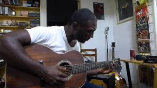 Cedric Burnside at Solo Blues - I Can't Be Satisfied