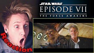 Star Wars: Episode VII - The Force Awakens Official Teaser Trailer #2 REACTION! | NERD-GASM!!! |