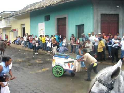 Baile marimbas en Nandaime, Nicaragua 2009